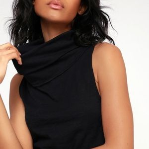 """We the Free """"Summer Thing"""" Sleeveless Cowl Neck"""